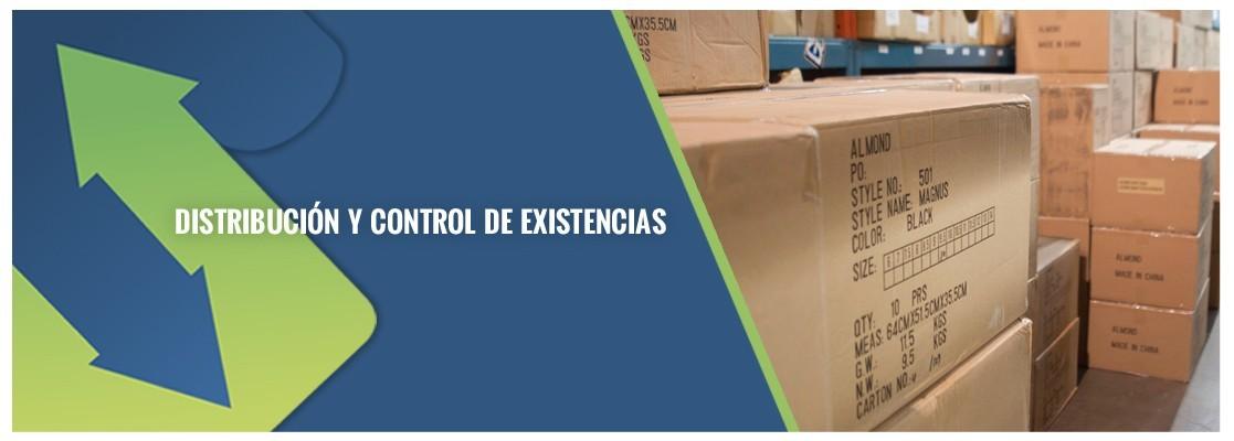 Distribución y Control de Existencias